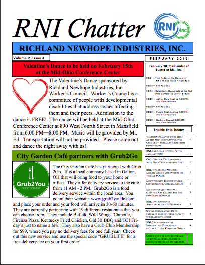 RNI Chatter: February 2019 Edition