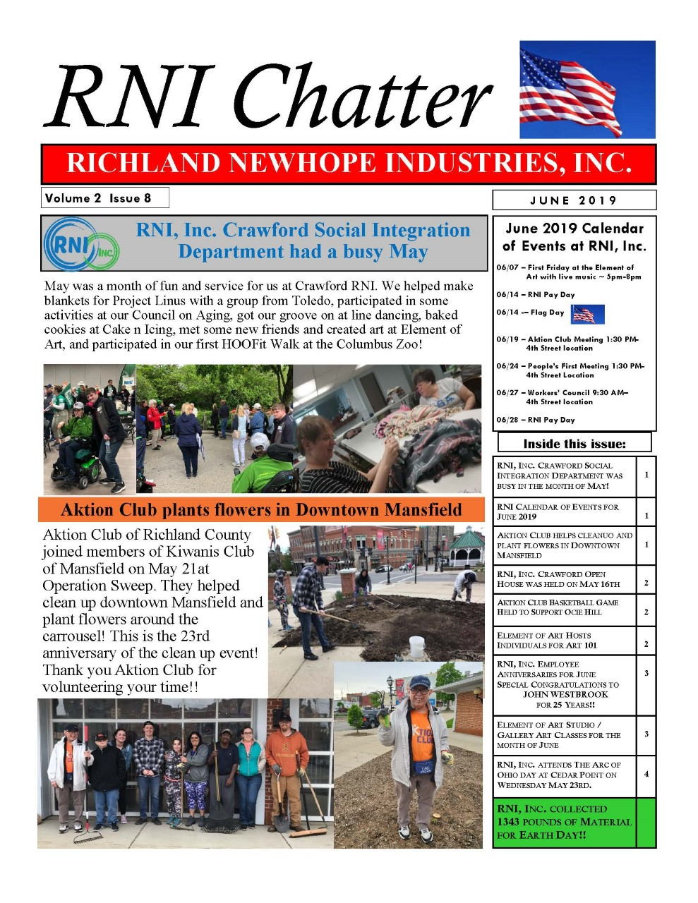 RNI Chatter: June 2019 Edition